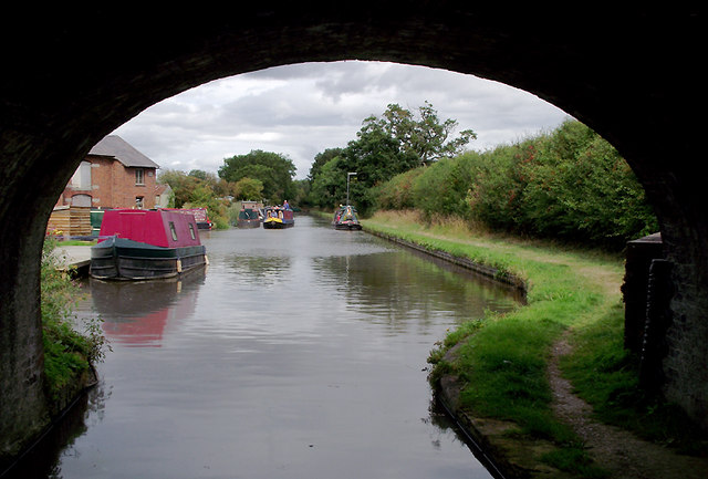Shropshire Union Canal by High Onn Wharf, Staffordshire