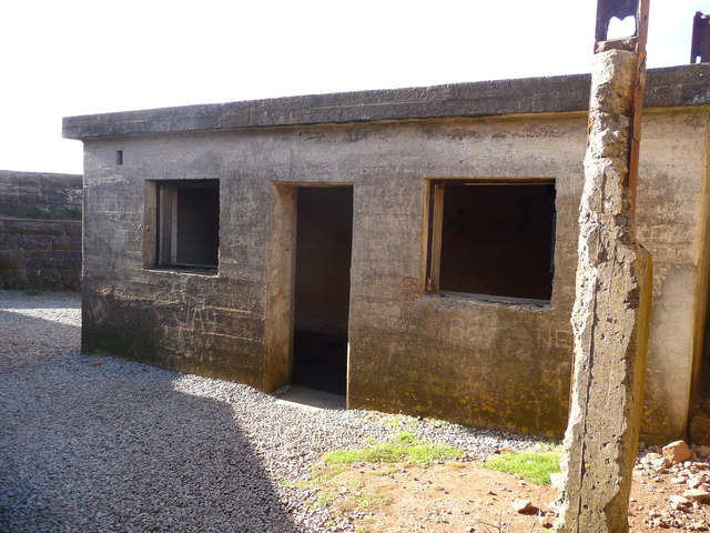 Brean Down - Brean Down Fort Administration Block