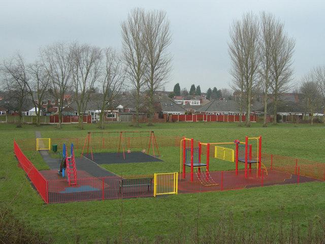 Children's Play Area, Longbarn Pool Park