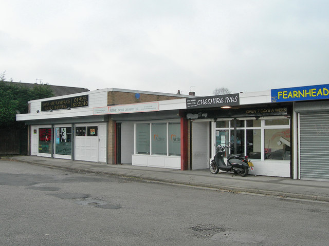 Small row of shops off Orchard Street