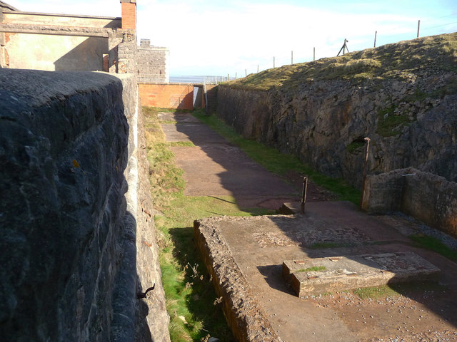 Brean Down - Brean Down Fort Engine House