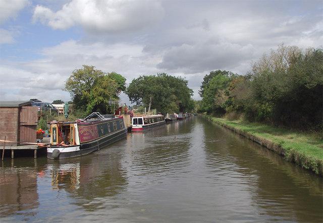 Shropshire Union Canal near High Onn, Staffordshire