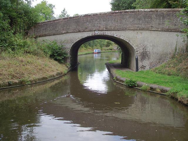 Turnover Bridge near Church Eaton, Staffordshire