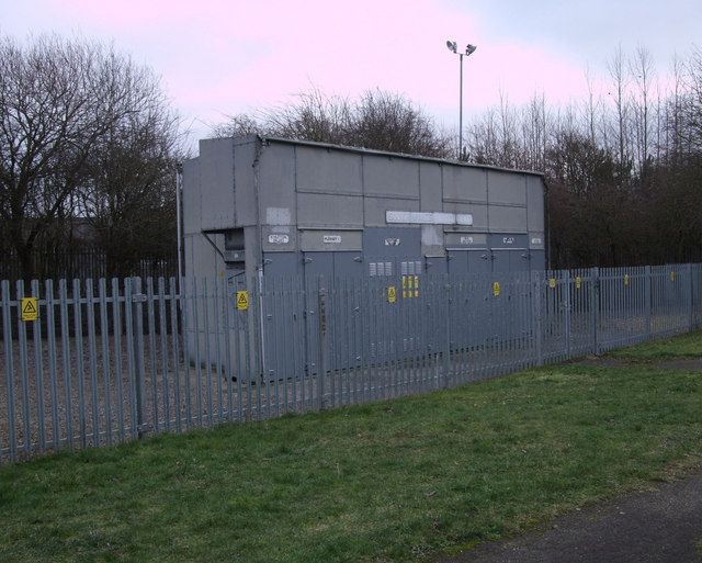 Electricity sub-station, Green Road
