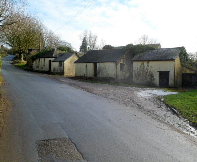 Sluvad Road farm buildings