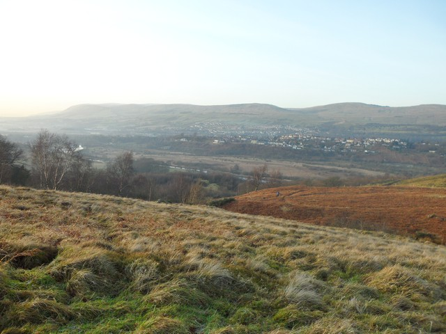 Kilsyth from Croy Hill