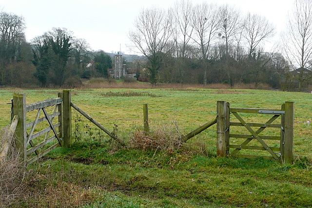 Farmland at West Wycombe Park