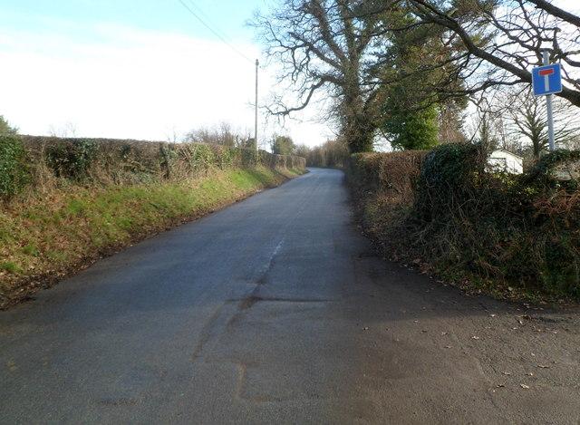 Road to Llandegfedd Reservoir