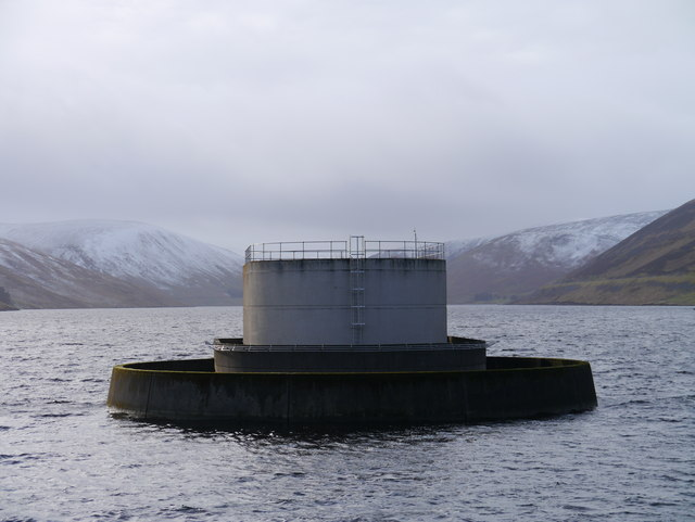 Megget Reservoir: Draw-Off & Overflow Tower