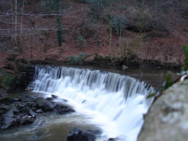 Weir on River Darwen