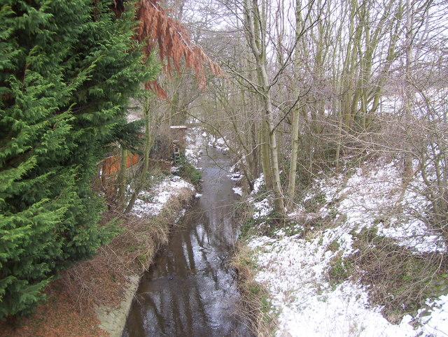 Smithy Brook at Clay Cross