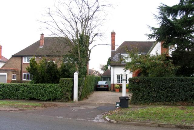 Houses on Stoughton Road