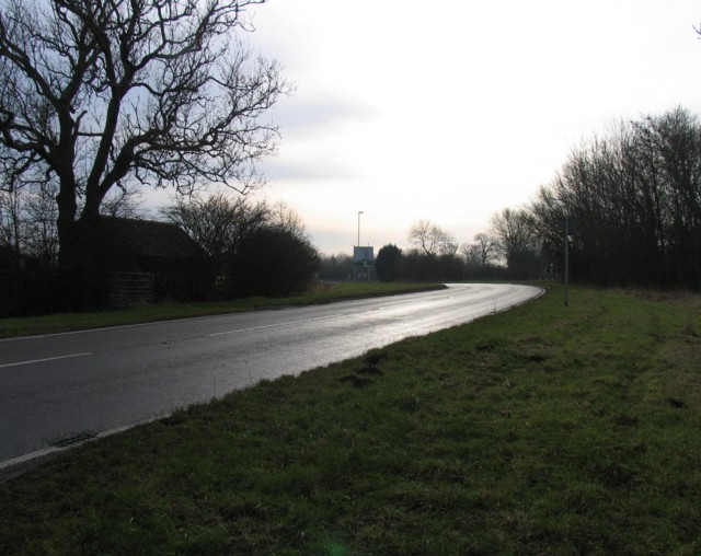 Towards Melton Road/Uppingham Road junction