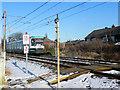 SD7908 : Metrolink Foot Crossing by David Dixon