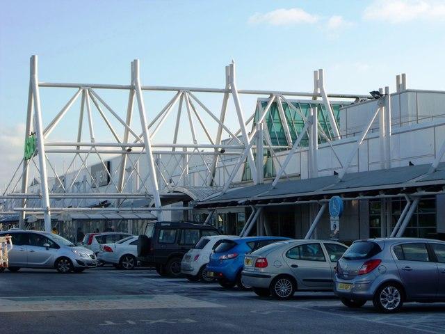 Disable car park, ASDA, Eastbourne