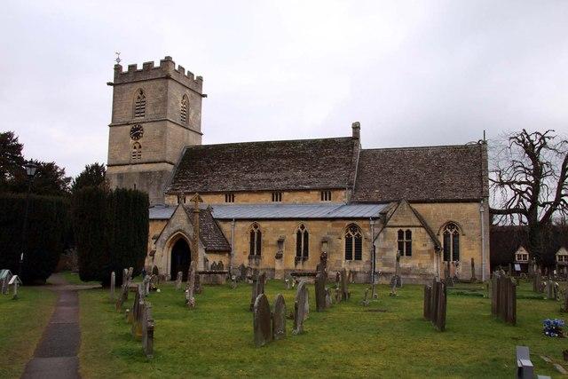 St Mary's Church in Prestbury
