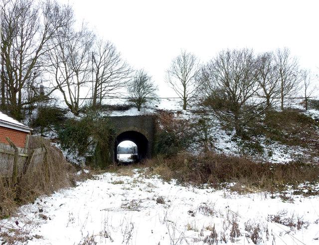 Tunnel under the Railway