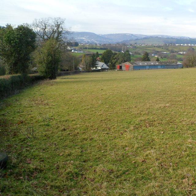 Eastern side of The Sluvad Farm