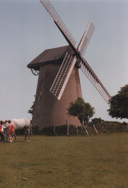 Bembridge Windmill 1984
