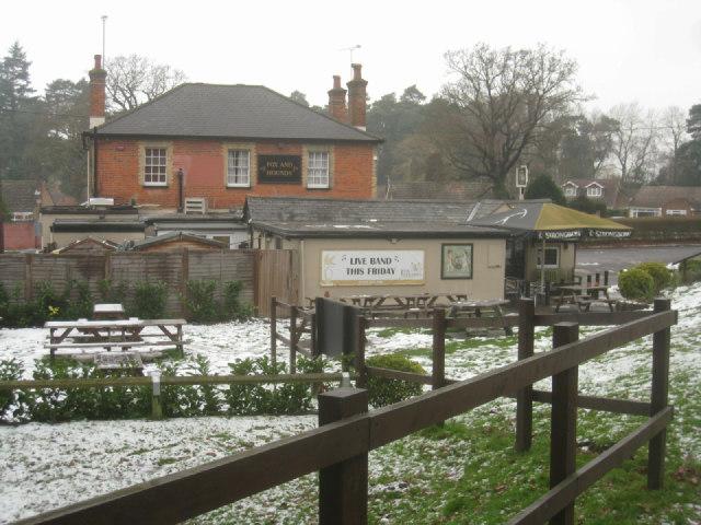 Pub garden (Fox & Hounds)