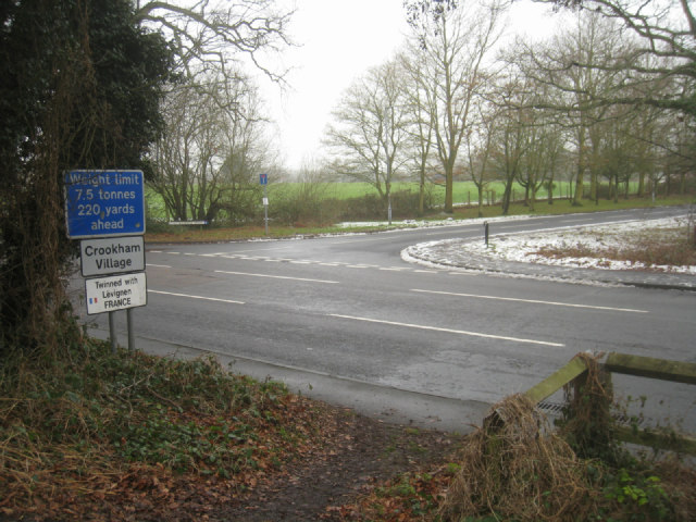 Crookham Road / Netherhouse Moor