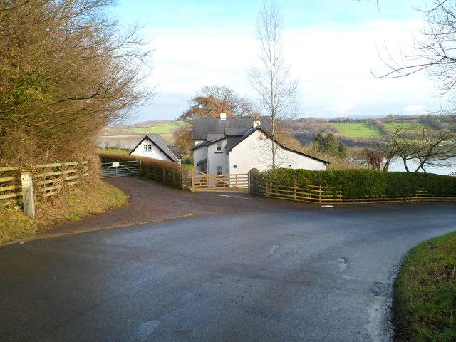 Orbitawood, Sluvad Road near Llandegfedd Reservoir