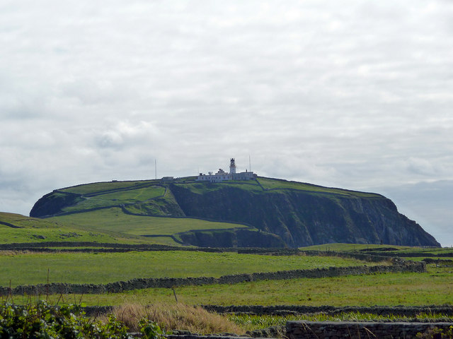 Sumburgh Head and its lighthouse