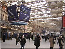 TQ3179 : Waterloo Station concourse by Christopher Hilton