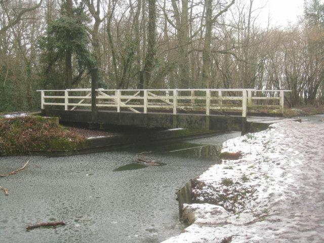 Zebon Copse swing bridge