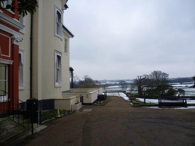 Looking from Heathfield towards New Addington