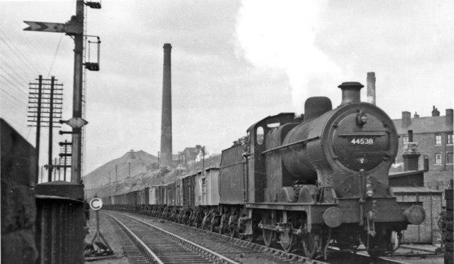Up freight at Royston & Notton