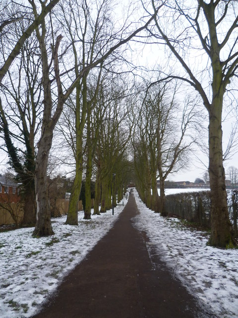 Path leading away from Gravel Hill