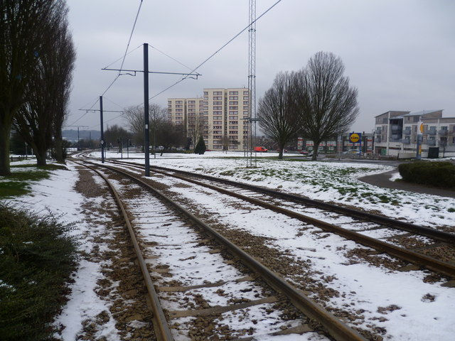 Tramlink at New Addington