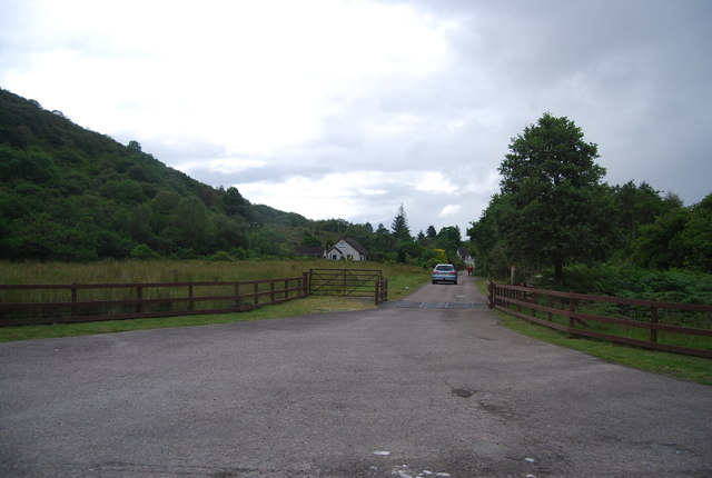 Track to Mill Cottages and Caravan Park