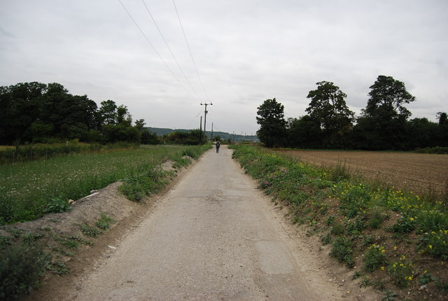 Old Church Rd looking north