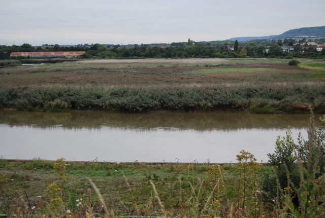 Holborough Marshes by the River Medway