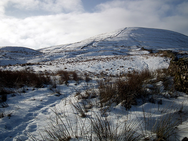 Park Fell looking cold but inviting