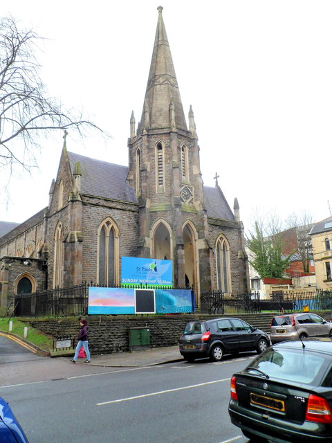 Grade II listed St Paul's City Centre Church, Newport