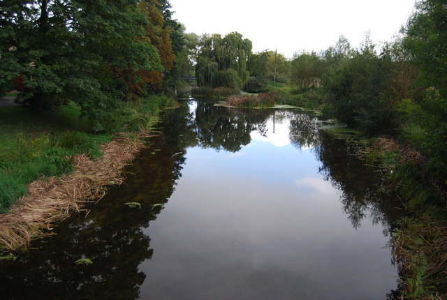 River Gipping from Bramford Bridge