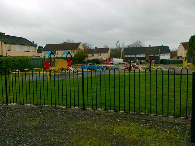 Play area, Dryden Road