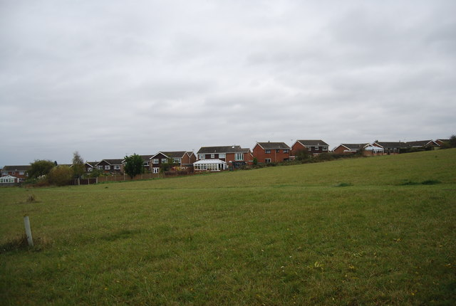 Houses on the edge of High Halstow