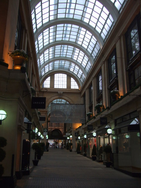 Shopping Mall at The Exchange Nottingham