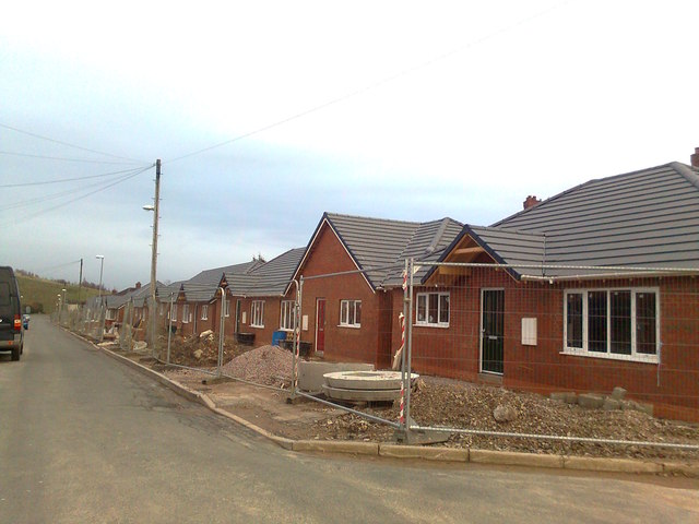 New houses, Warren Road, Monks-Neil Park