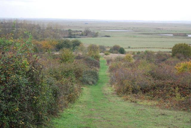 Saxon Shore Way, Northward Hill Reserve