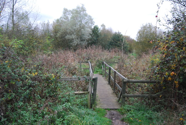 Footbridge, Saxon Shore Way