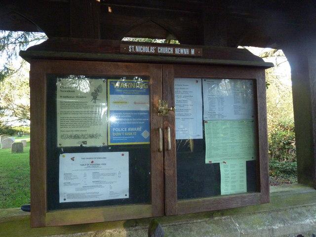 A late November visit to St Nicholas, Newnham (8)