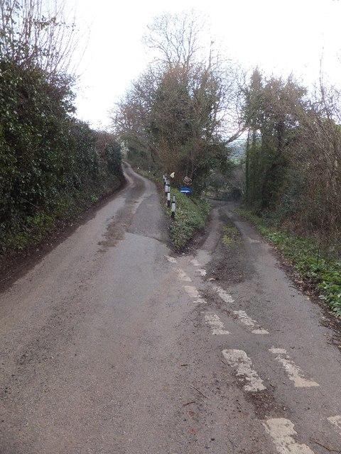 Track to Linhay and Weston Farm