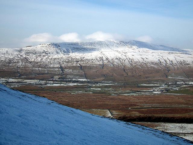 Whernside viewed from Park Fell