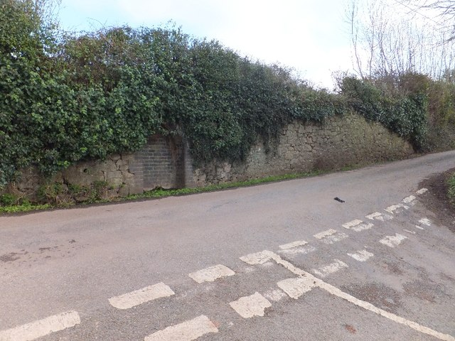 Former spring on Ashcombe Road