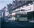 SK5804 : A Bus in Leicester City Centre (1) by David Hillas